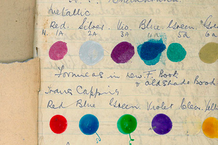 HMG Paints Colour Archive largest paint archive in UK