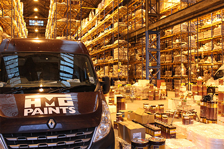 HMG Paints Deliveries