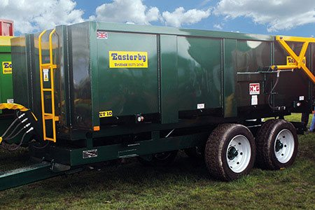 A versatile paint range for agricultural machinery, from trailer bodies to carrot pickers.