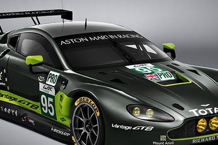 Technical Partnership with world famous motor sports companies including Prodrive / Aston Marting Racing