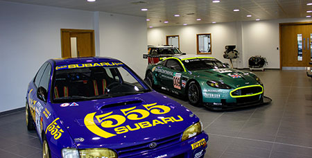 HMG Decorative Emulsion and Decorative Paints used at Prodrive Reception in Banbury