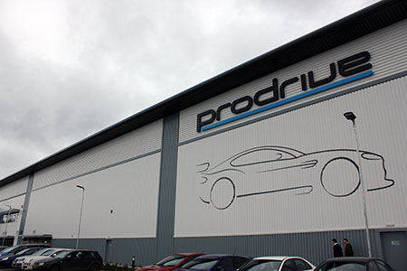 HMG Decorative Emulsion and Decorative Paints used at Prodrive in Banbury