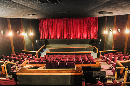 The iconic Savoy Cinema restored using HMG Paints Decorative Products