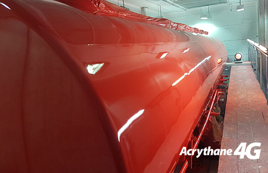 Acrythane 4G Red Tanker Topocoat